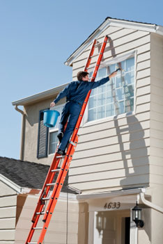 professional window cleaning in exeter
